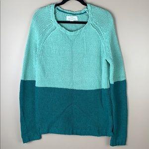 Trovata oversized green sweater sz med